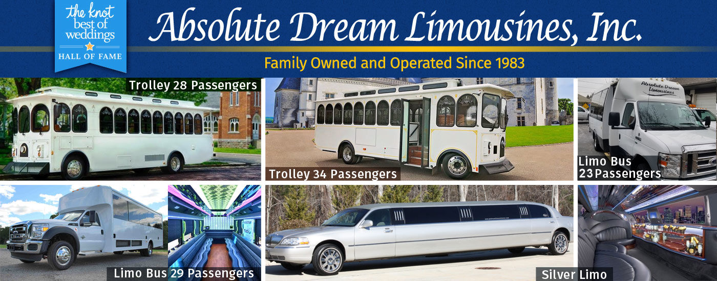 Absolute Dream Limousine wedding transportation