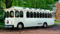 Wedding Trolleys, Wedding Limo up to 28 passengers!
